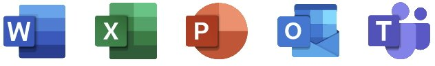 Microsoft Office Apps Icons